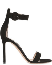 Gianvito Rossi 100mm Suede Sandals