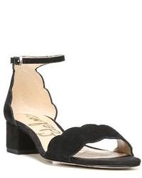 Sam Edelman Inara Scalloped Block Heel Sandal
