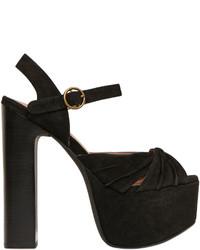 Jeffrey Campbell 155mm Donnas Suede Sandals