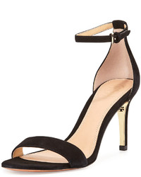 Tory Burch Keri Suede Ankle Strap Sandal