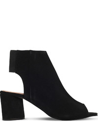 Kg Kurt Geiger Raw Suede Heeled Sandals