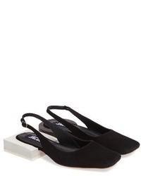 Jacquemus Les Chaussures Santons Slingback Flat