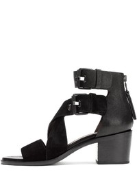Rag & Bone Madrid Sandal Black Suede