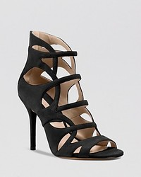 Michael Kors Michl Kors Caged Sandals Casey Strappy High Heel