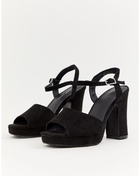 New Look Platform Heeled Sandal