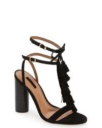 Topshop Ripple Tasseled Round Heel Sandal