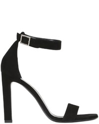 Saint Laurent 105mm Grace Suede Sandals