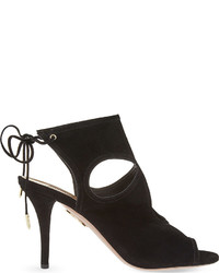 Aquazzura Sexy Thing Suede Heeled Sandals
