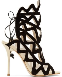 Webster Sophia Black Suede Mila Sandals