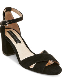 Steven By Steve Madden Voomme Ankle Strap Block Heel Dress Sandals