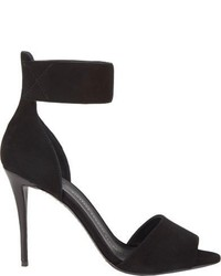 Giuseppe Zanotti Suede Ankle Strap Sandals