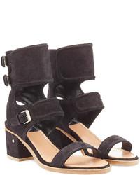 Laurence Dacade Suede Block Heel Sandals