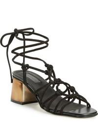Topshop Napoli Block Heel Sandal