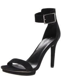 Calvin Klein Vivian Suede Platform Sandal