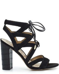 Sam Edelman Yardley Lace Up Heeled Sandal