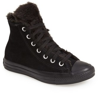 306602ada447 ... Converse Chuck Taylor All Star Fun Fur High Top Sneaker ...