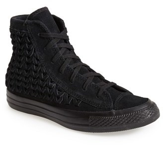 f13bb59ad042 Converse Chuck Taylor All Star Woven Suede High Top Sneaker