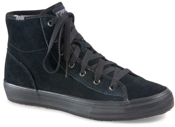 Forever 21 Keds Double Up Hi Suede High