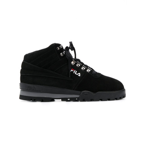 Fila Mid Top Lace Up Sneakers, $156