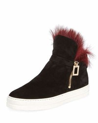 Sneaky viv high top sneaker with fur medium 4156376