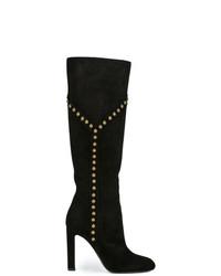 Saint Laurent Grace 105 Studded Boots