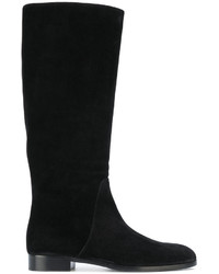 Sergio Rossi Knee Length Flat Boots