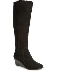 Jack Rogers Mia Knee High Wedge Boot