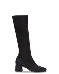 Prada Stretch Suede Boots