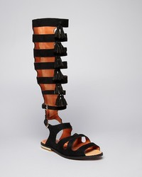 Rebecca Minkoff Flat Gladiator Sandals Summer Tall Fringe