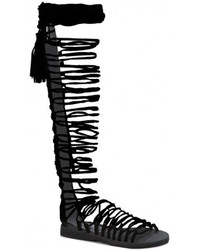 474210eadbe Women s Knee High Gladiator Sandals by Jeffrey Campbell