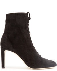 Jimmy Choo Daize Lace Up Suede Ankle Boots