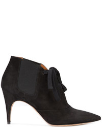 Derek Lam Lace Up Pointed Ankle Boots