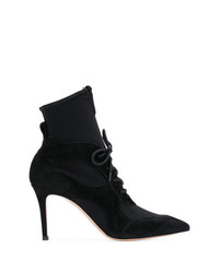 Gianvito Rossi Lace Up Stiletto Ankle Boots