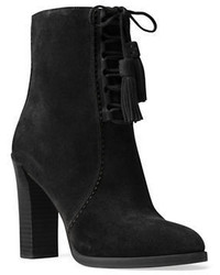 Michael Kors Michl Kors Collection Odile Suede Lace Up Booties