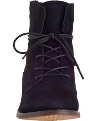 e155ceb6a84 Steve Madden Rawlings Short Boot Black Suede, $79 | Jildor ...