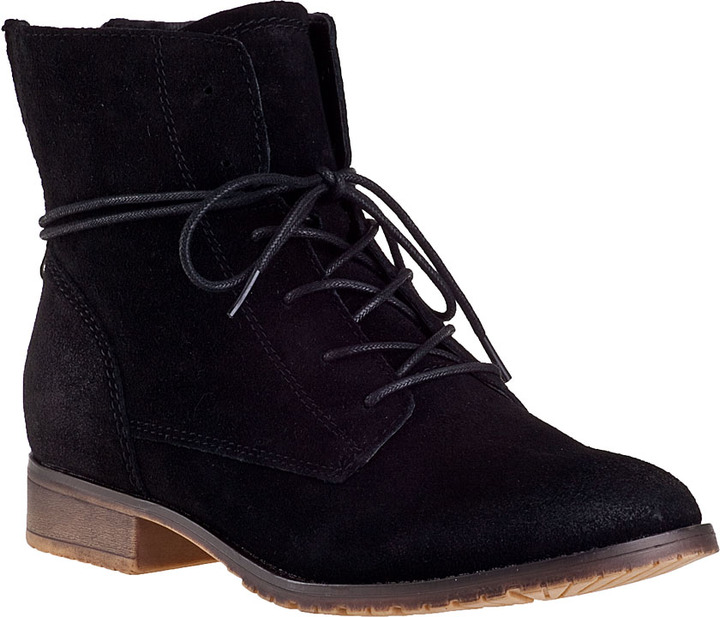 store skate shoes best price $79, Steve Madden Rawlings Short Boot Black Suede