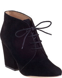 Kate Spade Roger Ankle Boot Black Suede