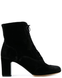 Tabitha Simmons Afton Lace Up Ankle Boots