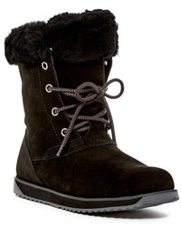 Emu Australia Shaw Lo Genuine Sheep Fur Lace Up Boot