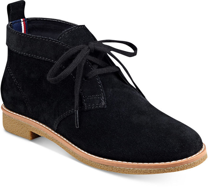 7de43ed2f ... Tommy Hilfiger Blaze Lace Up Oxford Booties ...