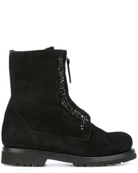 Ermanno Scervino Lace Up Ankle Boots