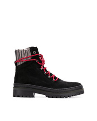 dfd33d17a Women s Lace-up Flat Boots by Tommy Hilfiger