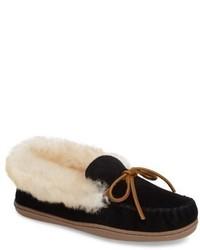 Minnetonka Alpine Genuine Shearling Slipper