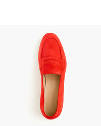 4aa124fe1a2 ... J.Crew Charlie Penny Loafers In Suede ...