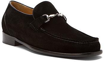 ... Black Suede Loafers Dino Monti Sergio