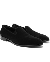 The Row Suede Loafers