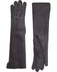 Barneys New York Shearling Lined Long Gloves