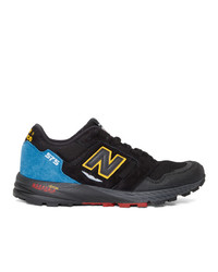 New Balance Black Made In Uk Urban Peak Mtl 575 Sneakers