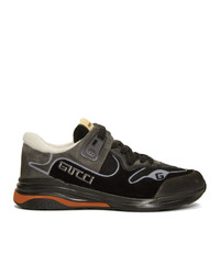 Gucci Black Ultrapace Sneakers