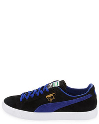... Puma Clyde Suede Low Top Sneaker Black d0cd00864